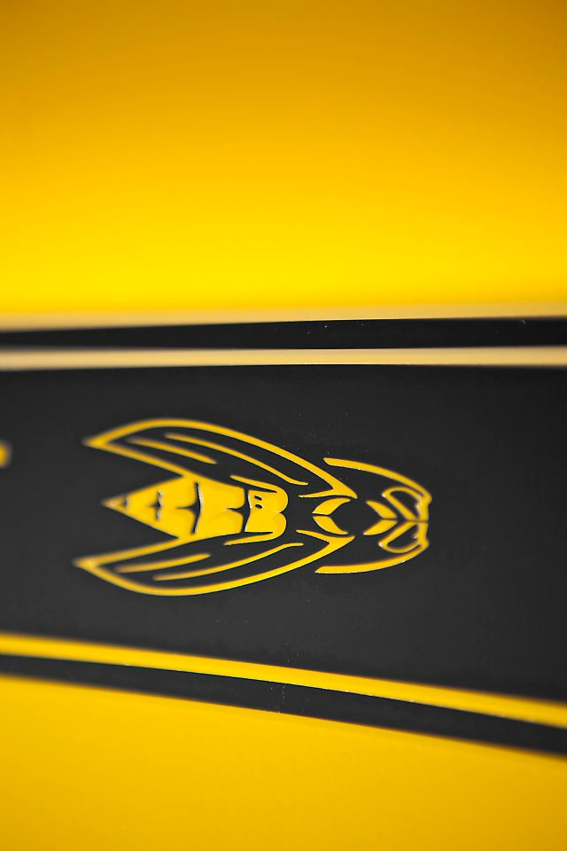Starting with a 2012 Dodge Challenger SRT8 392 , the Yellow Jacket