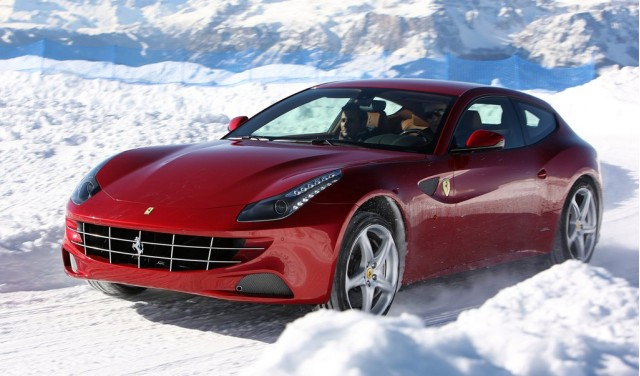 ferrari launches winter driving school. Black Bedroom Furniture Sets. Home Design Ideas