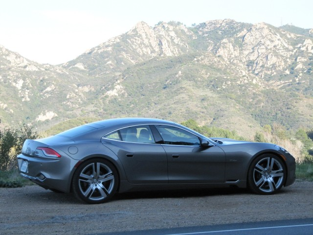 Inferno Exotic Car 2017 >> 2012 Fisker Karma during road test, Los Angeles, Feb 2012