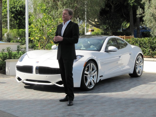 Fisker Electric Car Stock