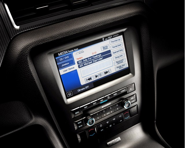 2012 Ford Mustang equipped with SYNC AppLink #9351373