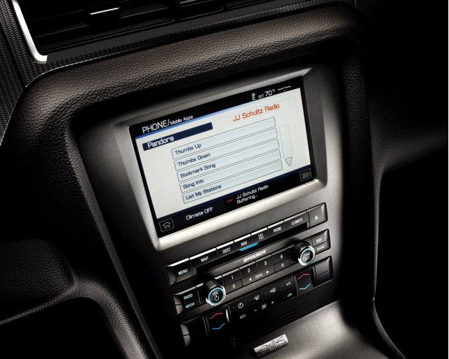 2012 Ford Mustang equipped with SYNC AppLink #7277445