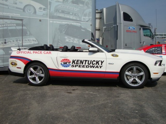 Kentucky Speedway 2012 Ford Mustang Pace Car #9253963