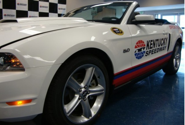 Kentucky Speedway 2012 Ford Mustang Pace Car #9821328