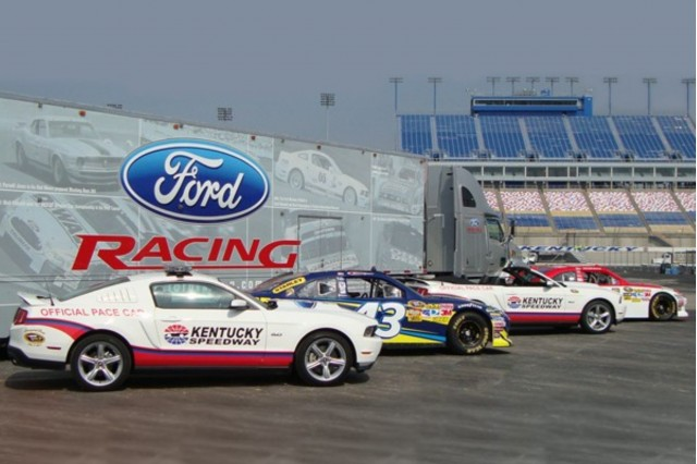 Kentucky Speedway 2012 Ford Mustang Pace Car #7322944