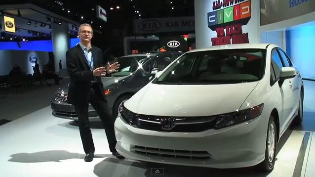 2012 Honda Civic HF at New York Auto Show, April 2011 #7051706