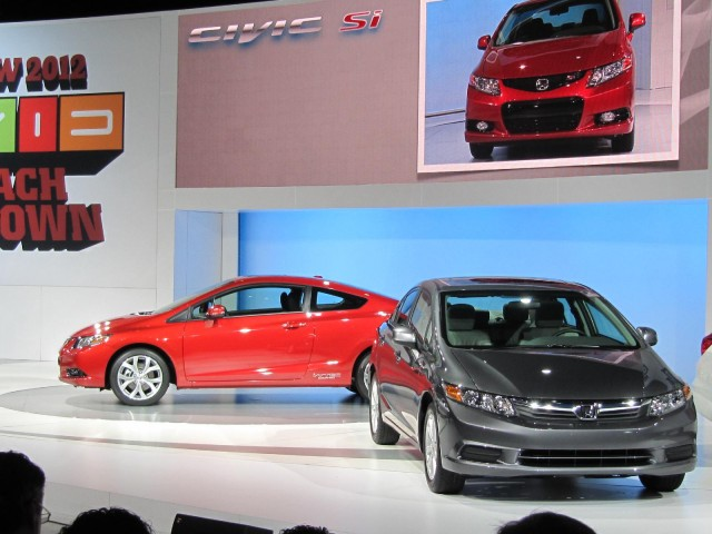 2012 Honda Civic launch, New York Auto Show, April 2011 #9364884