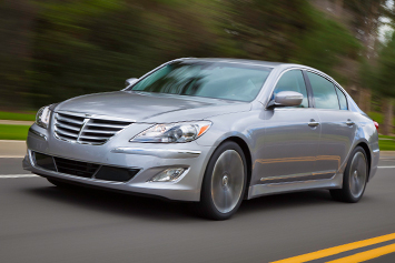 2012 hyundai genesis review ratings specs prices and. Black Bedroom Furniture Sets. Home Design Ideas