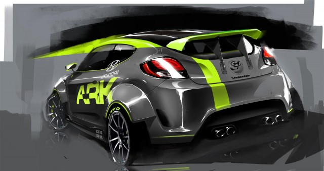 2012 Hyundai Veloster by ARK Performance #9658615