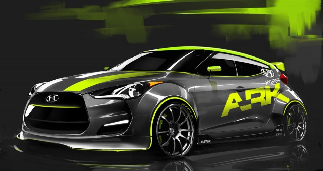 2012 Hyundai Veloster by ARK Performance #7136629