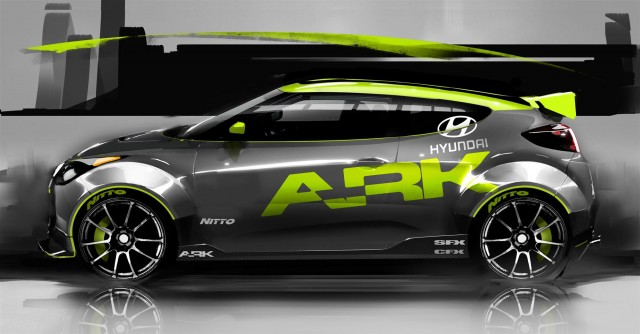 2012 Hyundai Veloster by ARK Performance #7289415