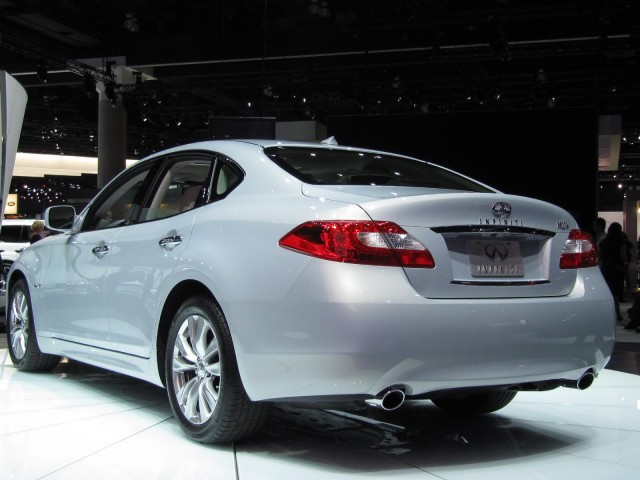 2012 Infiniti M Hybrid, at the 2010 Los Angeles Auto Show #8588356
