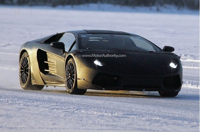 2012 Lamborghini Jota Murcielago replacement spy shots #8743971