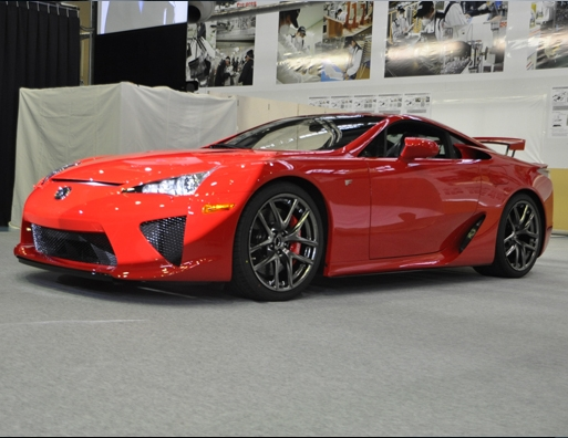 First production 2012 Lexus LFA rolls off the line #8906150