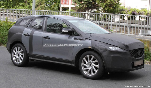 2012 Mazda CX-5: Spy Shots