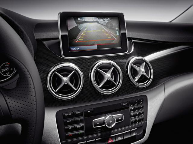 2012 Mercedes-Benz B-Class Interior Images: New Gallery