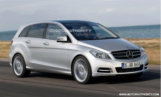 2012 mercedes benz b class spy shots. Black Bedroom Furniture Sets. Home Design Ideas