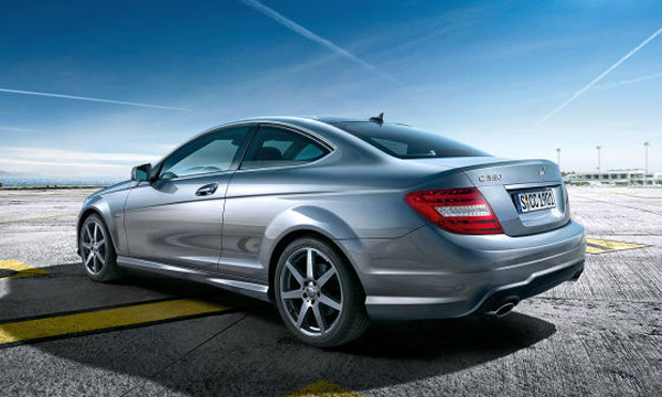 2012 mercedes benz c class coupe revealed for Mercedes benz c350 2012