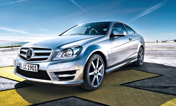 2012 mercedes benz c class coupe revealed