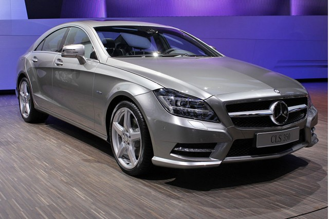 2012 mercedes benz cls 550 first look gallery 1 motorauthority. Black Bedroom Furniture Sets. Home Design Ideas