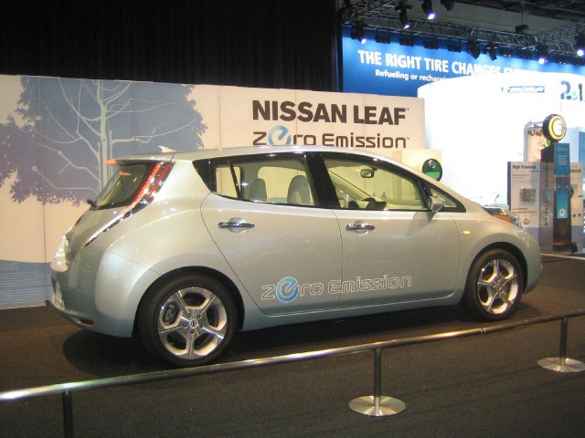 2012 Nissan Leaf, Electric Avenue, 2010 Detroit Auto Show