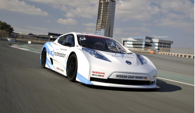 2012 Nissan Leaf Nismo RC electric race car