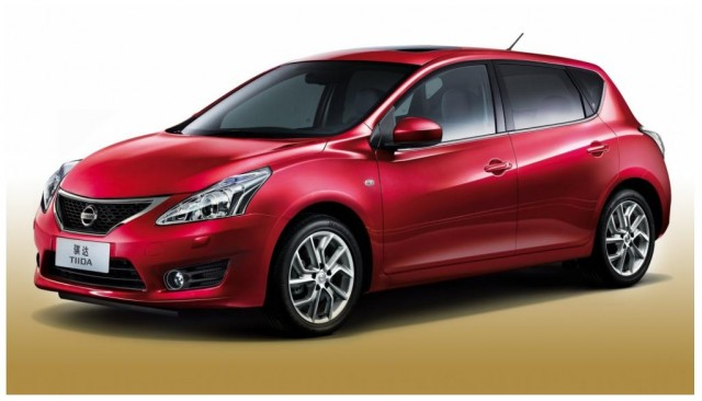 Is This The 2012 Nissan Versa Hatchback Photos From Shanghai