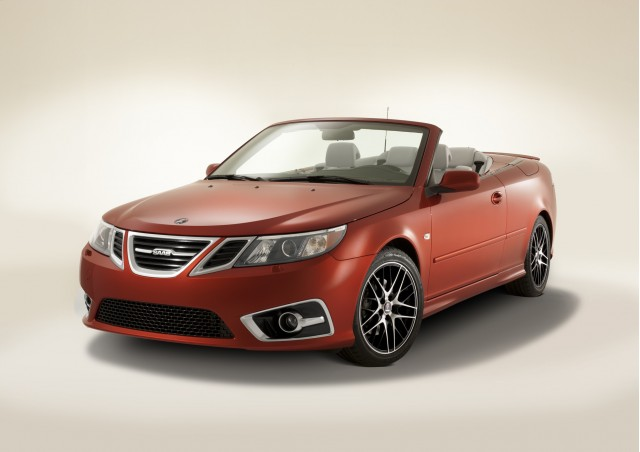 2012 Saab 9-3 Convertible Independence Edition.