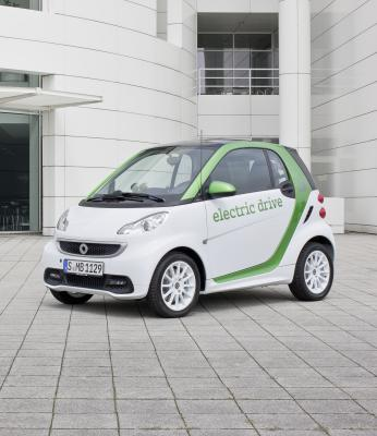 2012 Smart ForTwo Electric Drive #9476356
