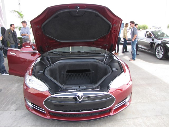 How Much Space Is There Inside A 2012 Tesla Model S Anyway