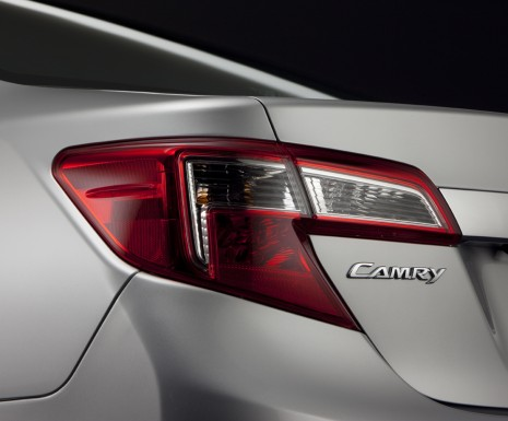2012 Toyota Camry Teaser