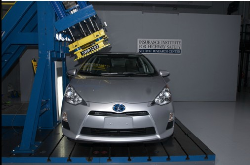 2012 toyota prius c malibu eco get iihs top safety pick award. Black Bedroom Furniture Sets. Home Design Ideas