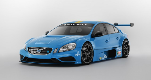 volvo unveils 2012 s60 tta race car. Black Bedroom Furniture Sets. Home Design Ideas
