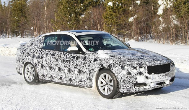 2015 BMW 5 Series Gran Turismo Spy Shots