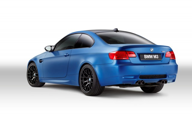 2013 BMW M3 Coupe Frozen Limited Edition Models Launched