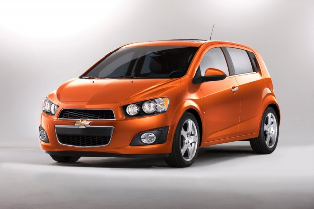 2013 Chevrolet Sonic hatchback #8172651