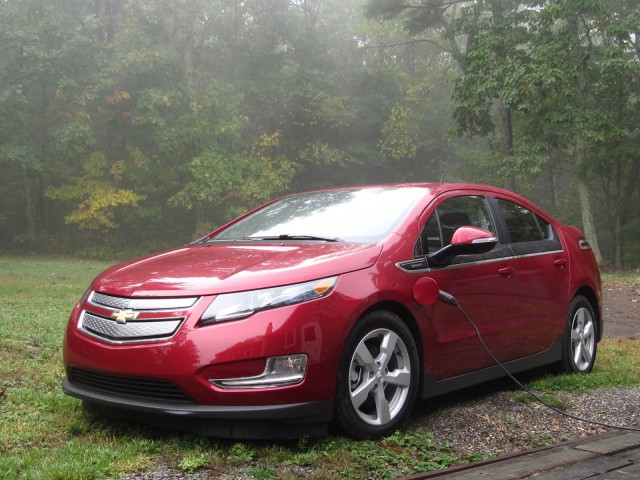 2013 Chevrolet Volt, Catskill Mountains, Oct 2012