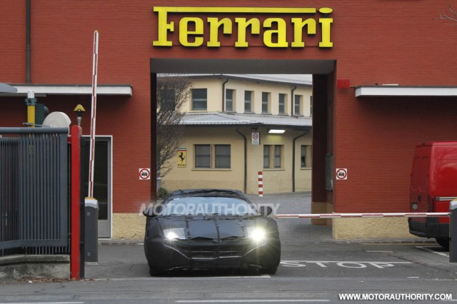 2013 Ferrari 599 replacement spy shots