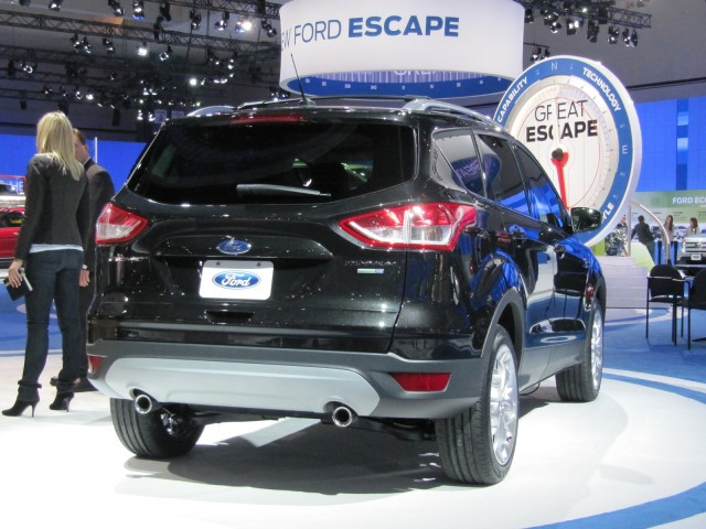2013 Ford Escape, launched at the Los Angeles Auto Show, Nov 2011 #8527223