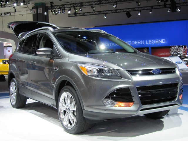 2013 ford escape launched at the los angeles auto show nov 2011. Black Bedroom Furniture Sets. Home Design Ideas