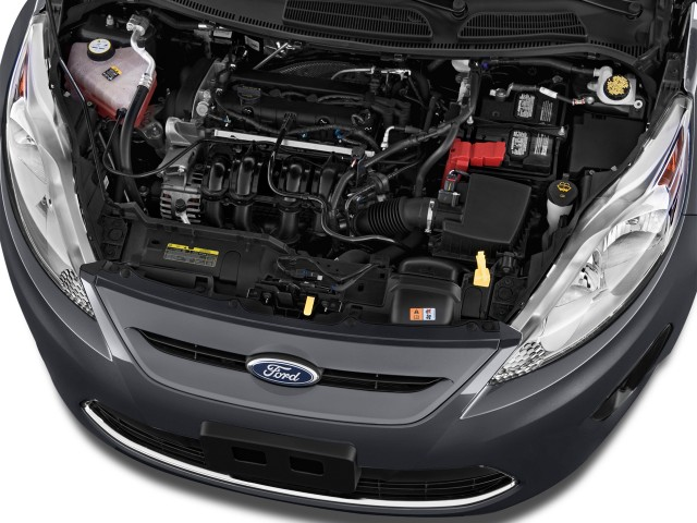 2013 Ford Fiesta 5dr HB SE Engine #8696850