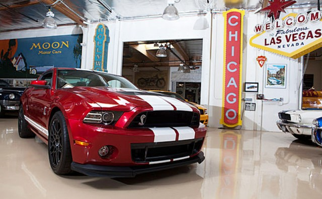 2013 Ford Mustang Shelby GT500 pays a visit to Jay Leno's Garage
