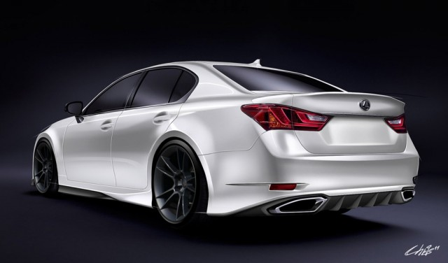 2013 Lexus GS 350 F Sport by Five Axis  pictures specification