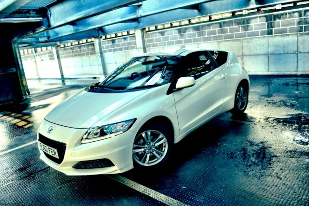 2013 Honda CR-Z hybrid coupe [UK specification]