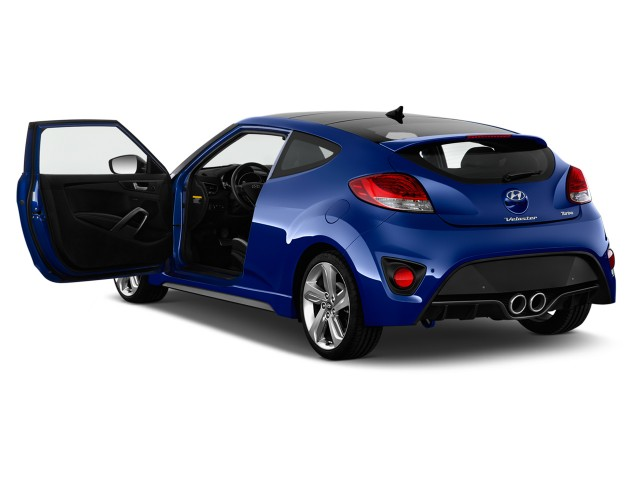 2013 Hyundai Veloster 3dr Coupe Man Turbo w/Black Int Open Doors #8541112
