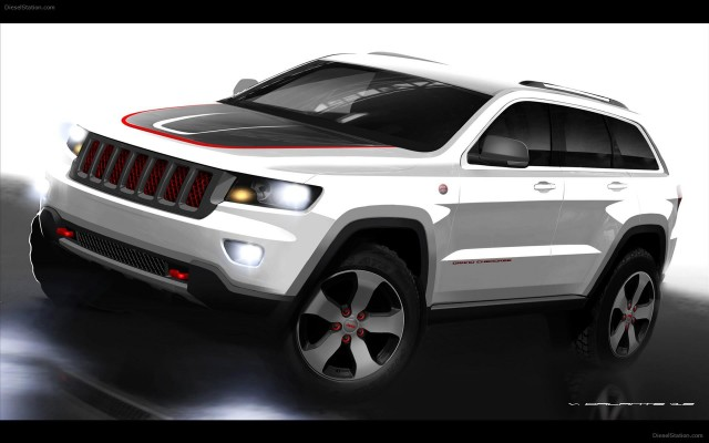2013 jeep grand cherokee trailhawk edition preview. Black Bedroom Furniture Sets. Home Design Ideas