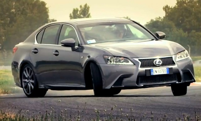 "2013 Lexus GS 450h ""120 Heartbeats"" video"