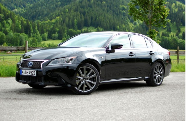 2013 Lexus GS 450h First Drive. [Photos: Antony Ingram]