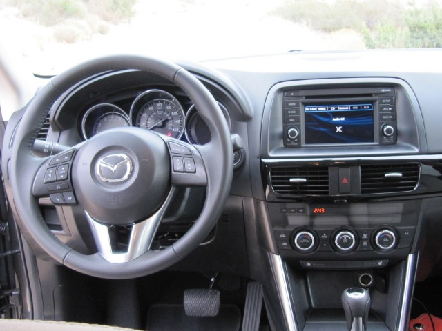 2013 Mazda CX-5 compact crossover on test drive, Southern California