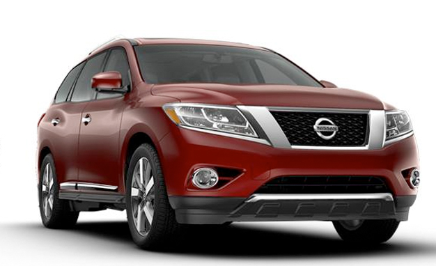 2013 Nissan Pathfinder, in production trim